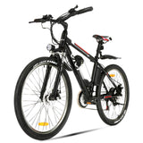 VIVI 26 Inch Wheel 350W Electric Mountain Bike with Removable 36V 8Ah Battery