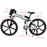 "26"" 27 Speed faltbar Electric Power Mountainbike"