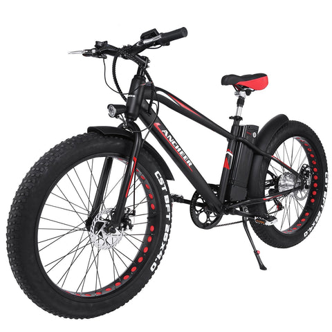 ANCHEER Fat Tire Electric Bike Mit 300W Bürstenlosen Motor