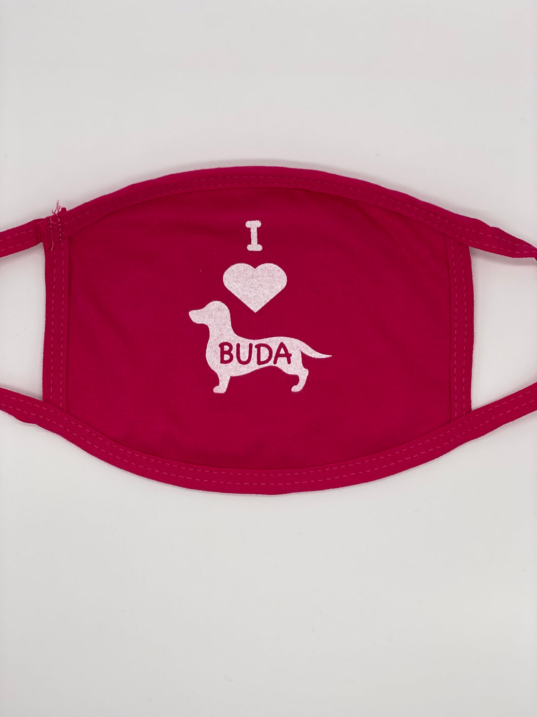I Love Buda Face Mask