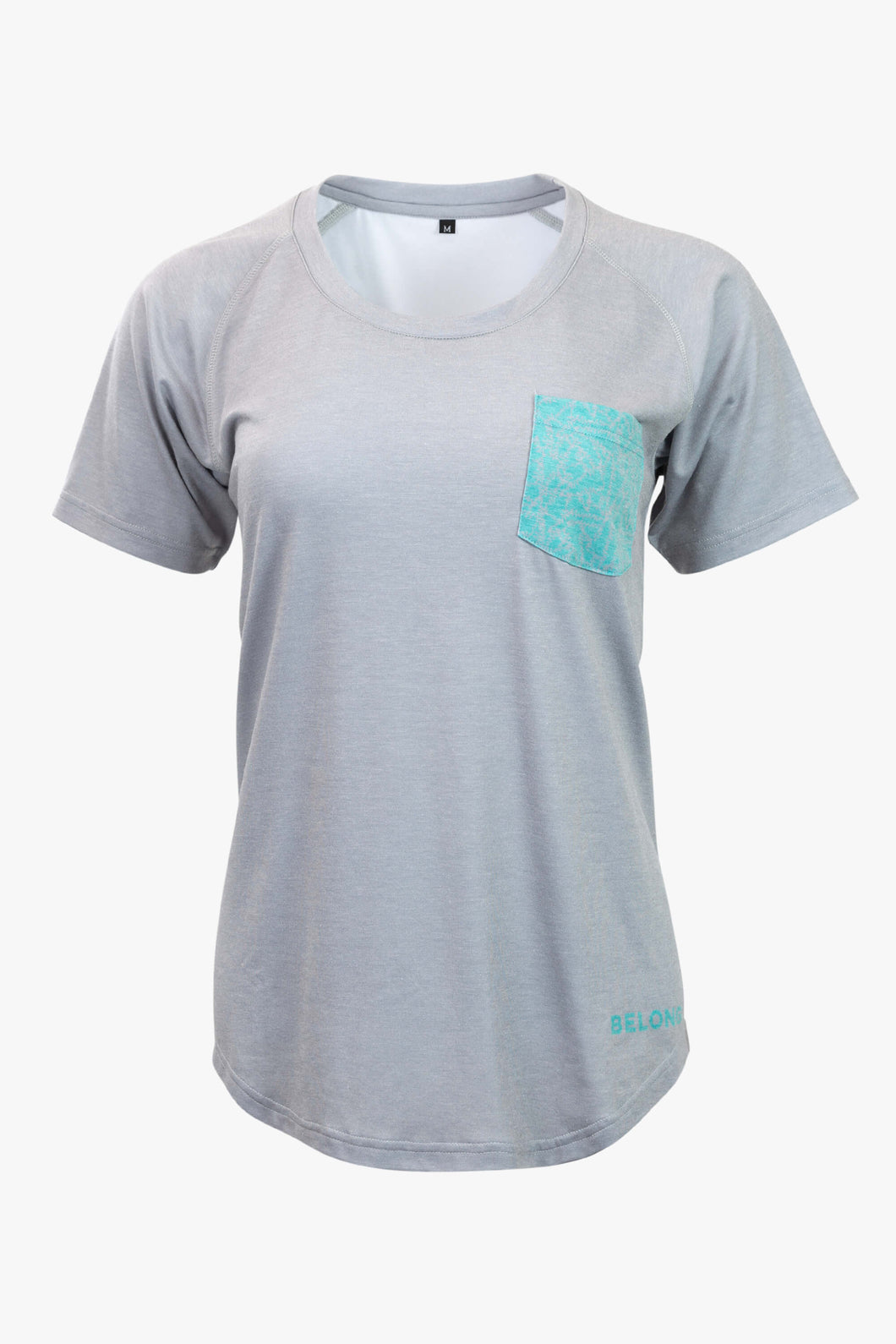 Women's Piney Pocket T-Shirt (Grey)