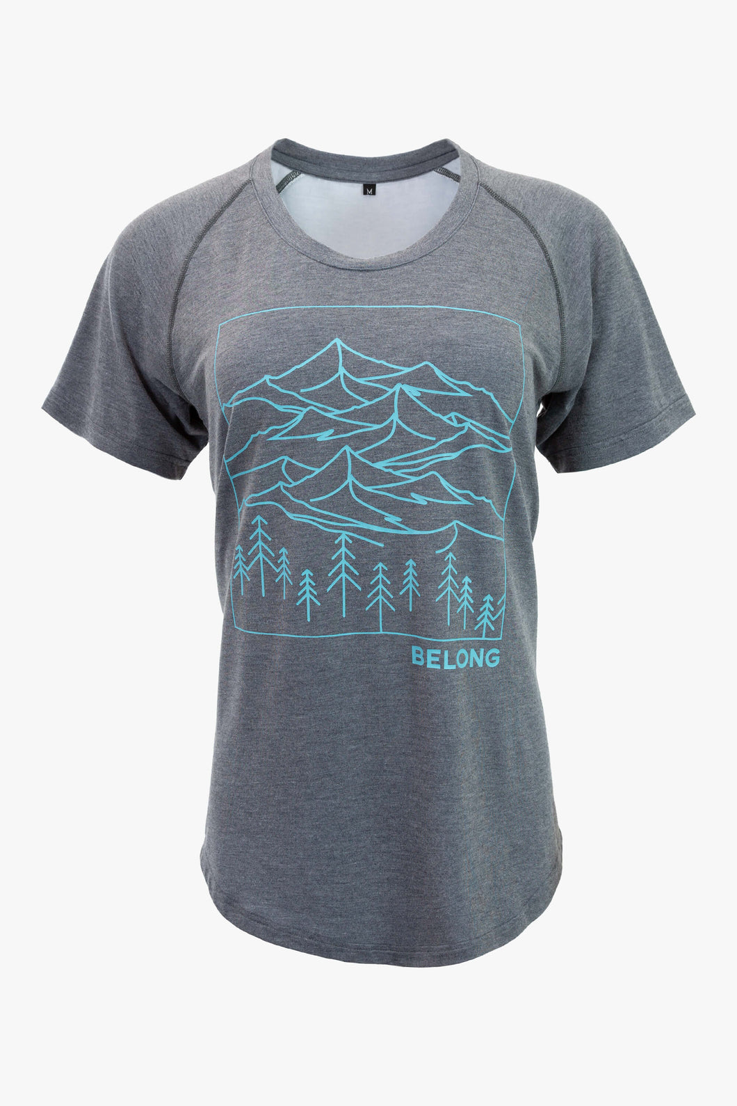 Women's Ridge Runner Tek Tee (Charcoal)