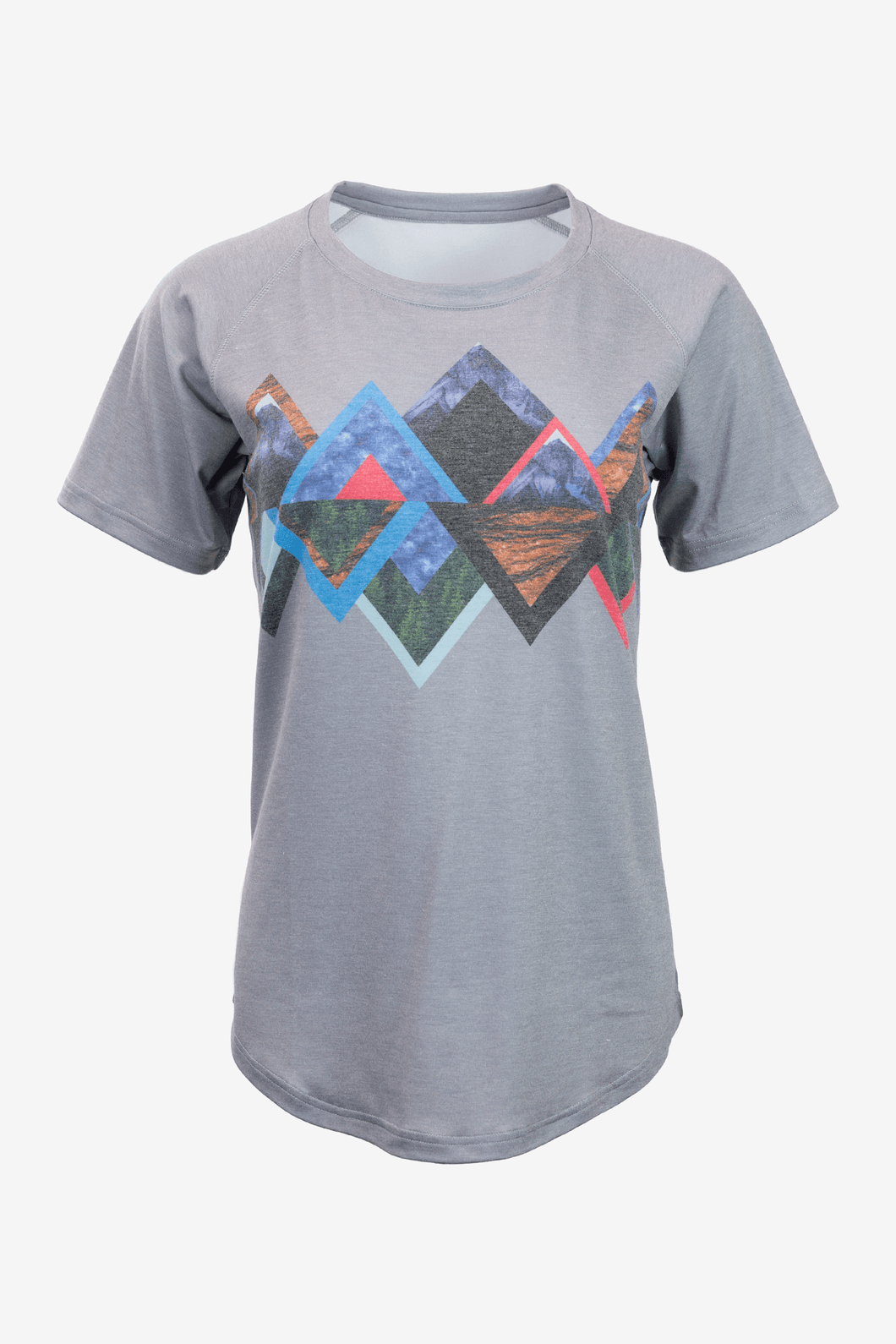 Women's Wonderpeaks T-Shirt (Charcoal)