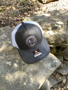 TBH Trucker Charcoal / White