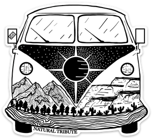 Adventure Bus Sticker