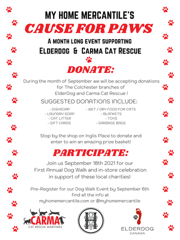 Cause for Paws Dog Party information - See the Eventbrite page for the low down!