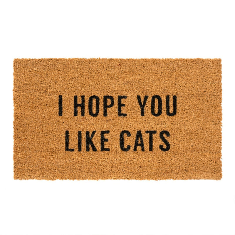 Hope You Like Cats Mat