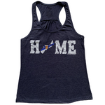 Nova Scotia HOME Flag Racerback Tank