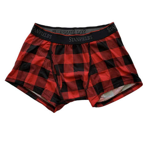 Buffalo Check Boxer Briefs