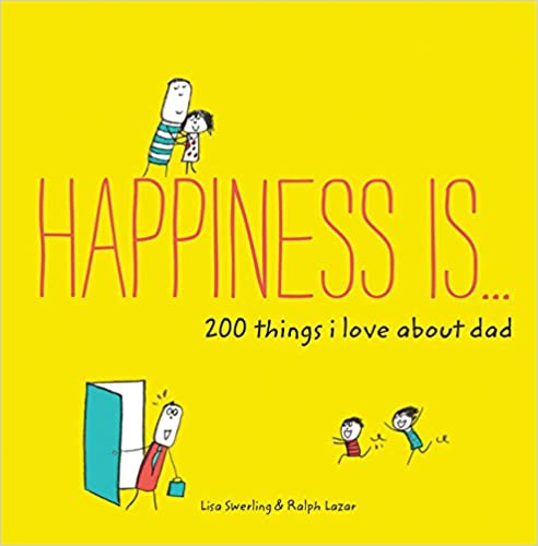 Happiness Is Book (Dad)