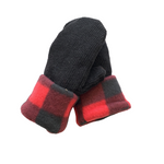 Buffalo Check Wool Mittens