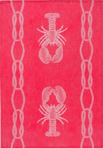 Lobster Catch - Jacquard Tea Towels