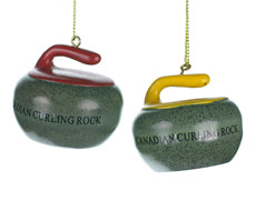 Curling Stone Ornament