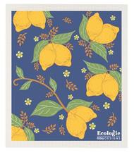 Provencal Lemons Ecologie Swedish Dishcloths