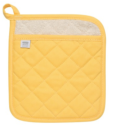 Superior Lemon Quilted Pot Holders