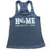 Home and Native Land Racerback Tank Top