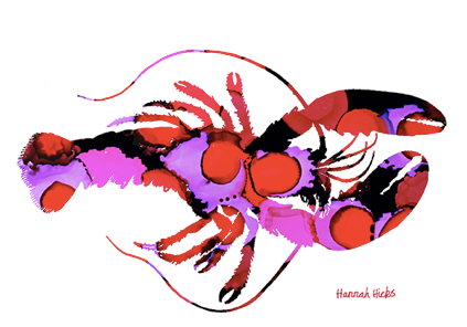 Hannah Hicks Lobster Card