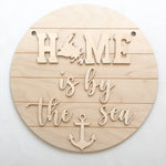 Home is by the Sea Sign Kit