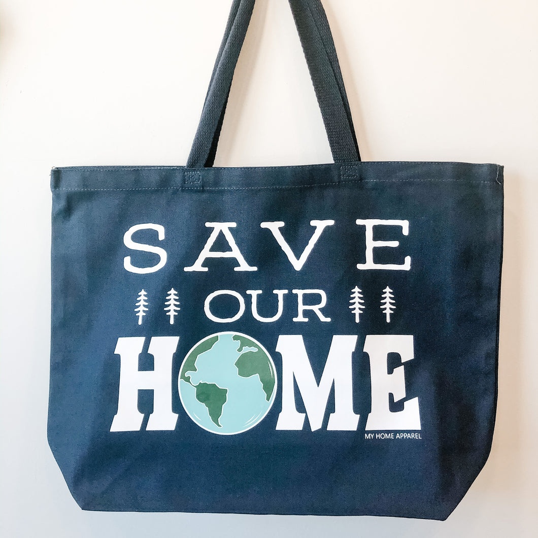 Save our HOME Tote Bag