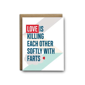 Love is Farts Card