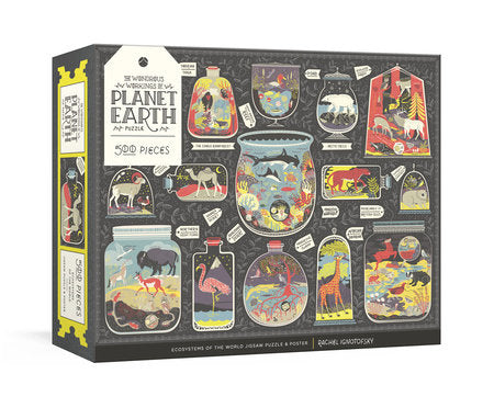Planet earth wildlife puzzle
