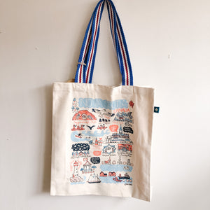 Nova Scotia Cityscape Tote Bag