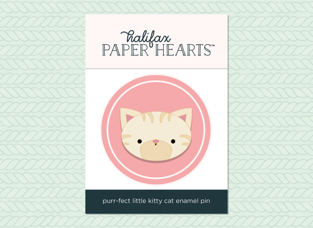 Purr-Fect Kitty Enamel Pin