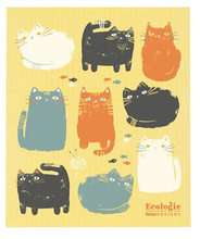 Purrfect Pals Ecologie Swedish Dishcloths