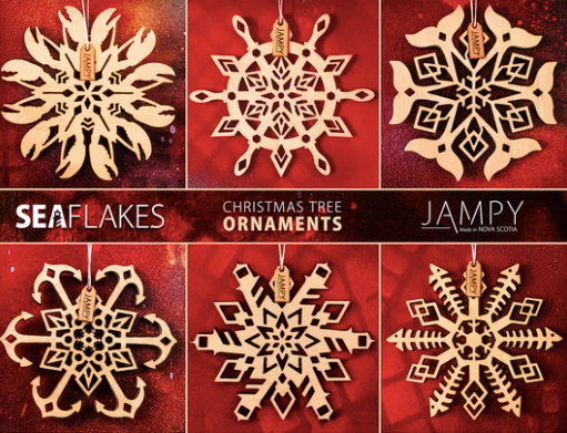 Seaflakes Ornaments