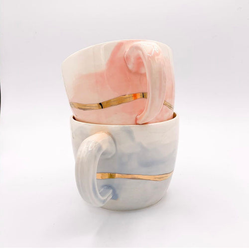 Sunset Pottery Mugs