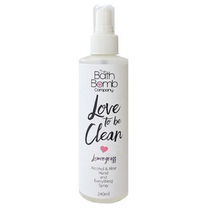 Love to be Clean Spray by Bathbomb Co.