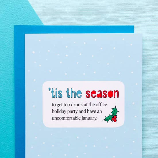 Uncomfortable January Holiday Card