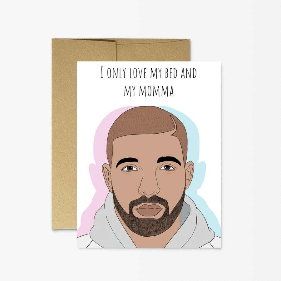 Drake Mother's Day Card