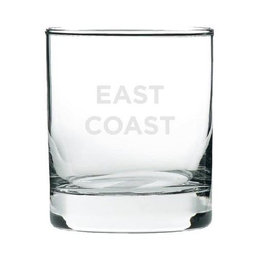 East Coast Rocks Glass