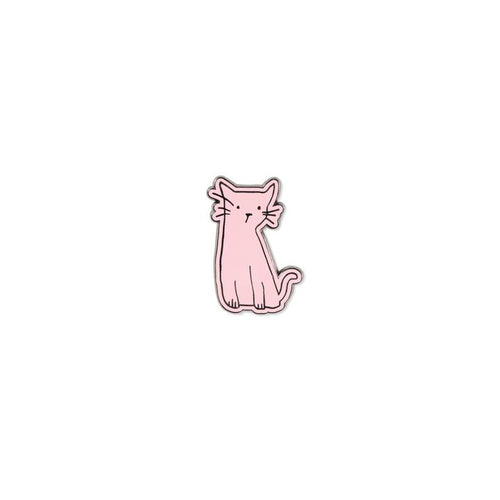 Whisker Cat Lady Pin