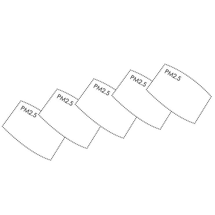 Replacement Mask Filters (5-pack)