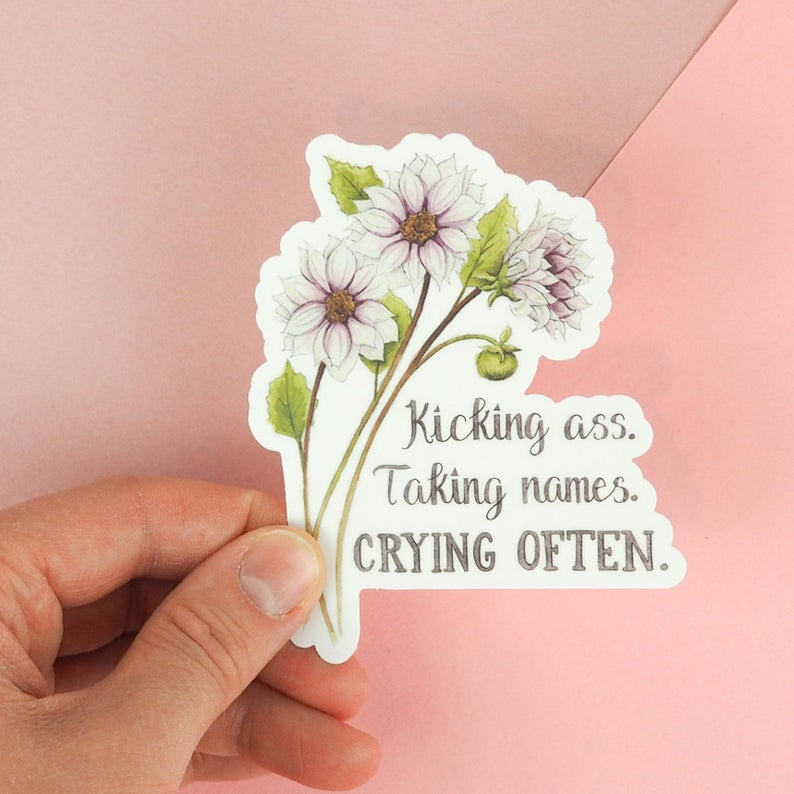 Stickers by Naughty Florals