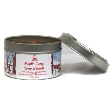 6 oz Travel Maple Syrup Candle