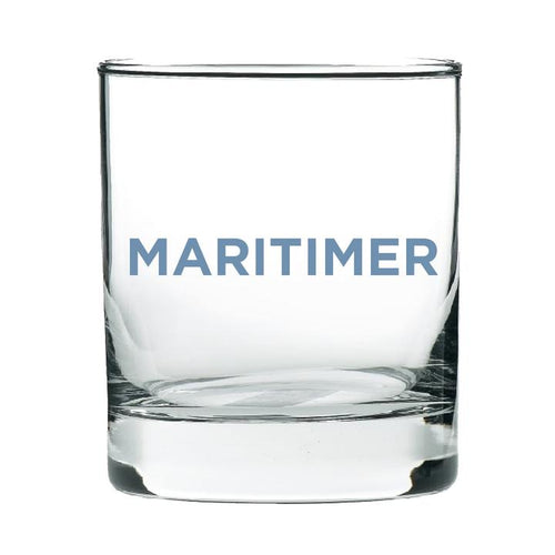 Maritimer Blue Rock Glass