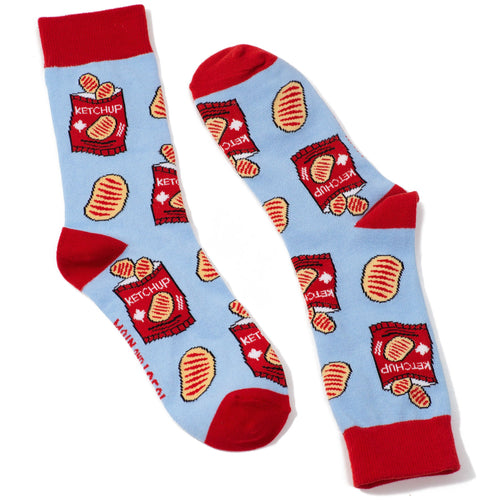 Ketchup Chips Socks