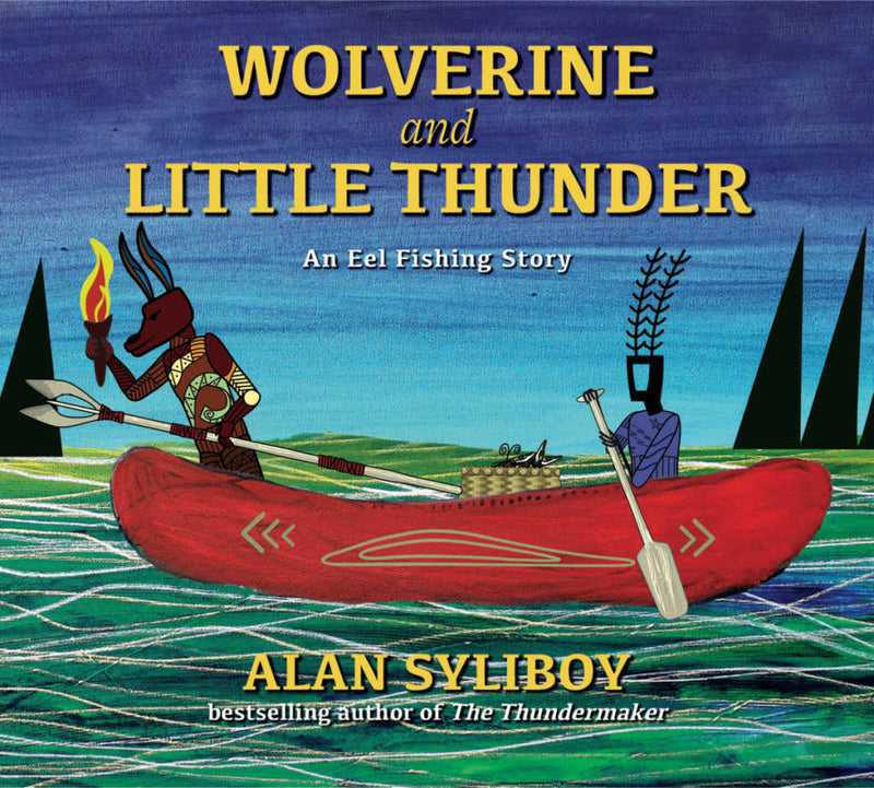 Wolverine and Little Thunder Book