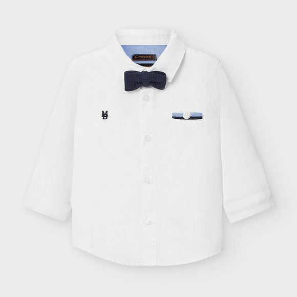 Long sleeved shirt with bow-tie for baby boy (mayoral)