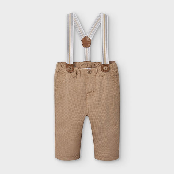 Trousers with braces for newborn boy (mayoral)