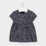 Polka dot dress for baby girl  (mayoral)