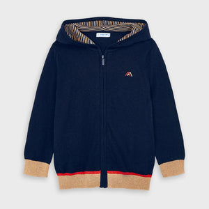 Knit hoodie for boy (mayoral)