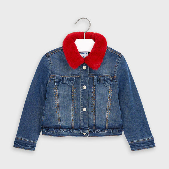 Denim jacket for girl   (mayoral)