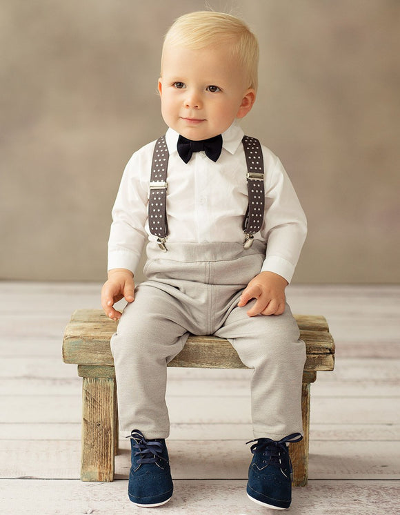 BABY BOY OUTFIT SET CHRISTENING WEDDING OCCASION