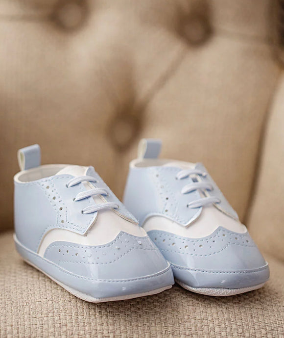 Baby Boy Booties Shoes, Christening, Occasion Wear