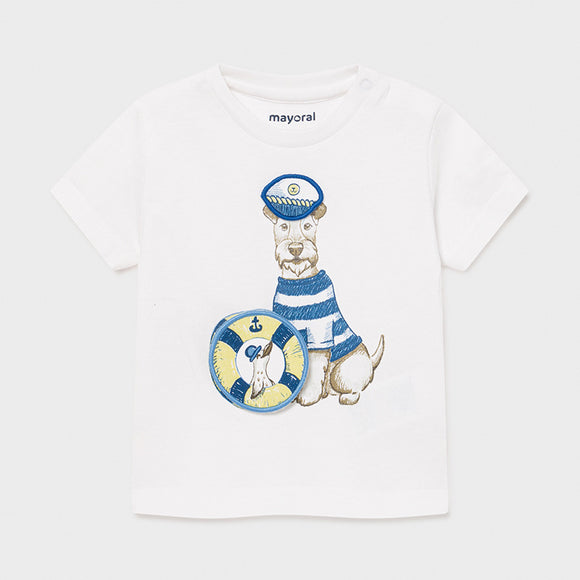 PLAY WITH t-shirt with interactive print for baby boy  (mayoral)