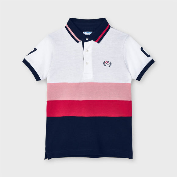 Combined polo for boy (mayoral)